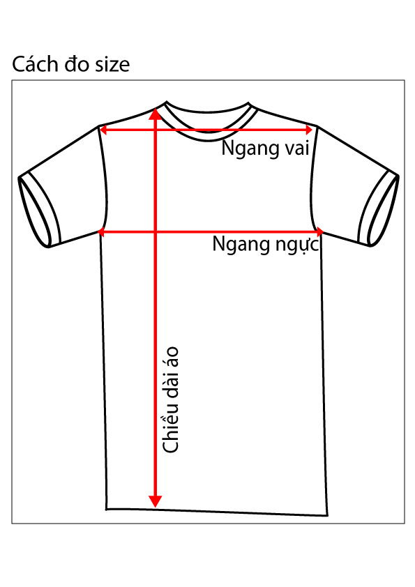 chọn size áo