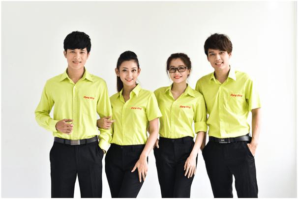 Dịch vụ in áo công ty uy tín tại TPHCM