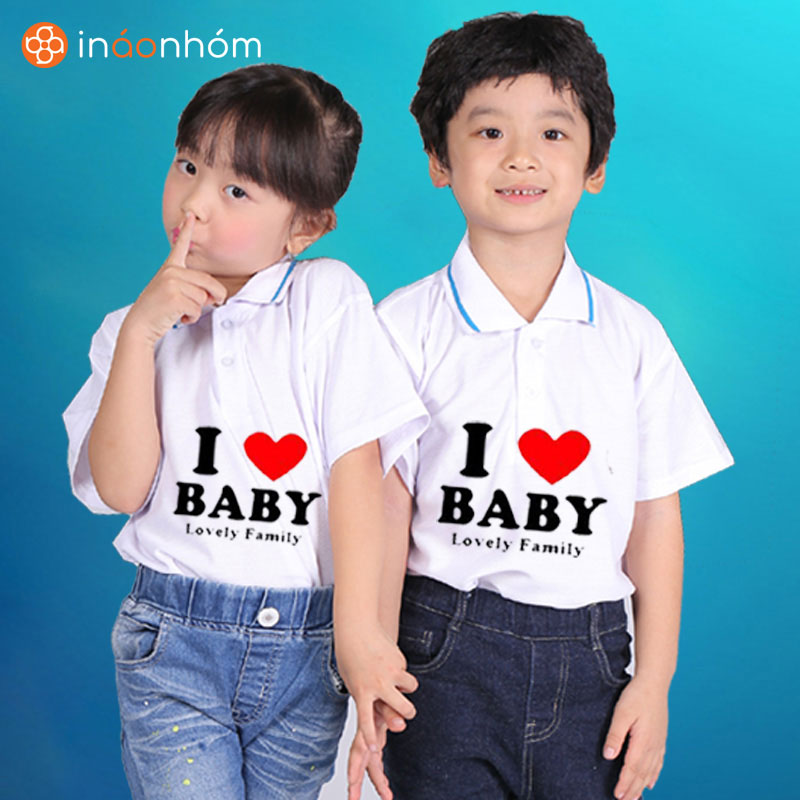 Dịch vụ in áo trẻ em