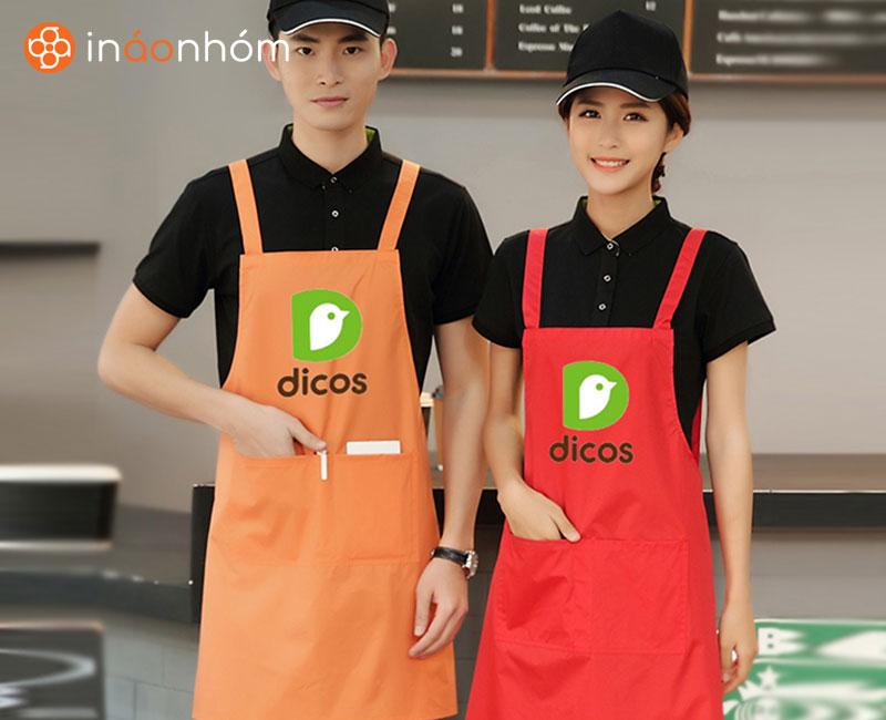 dịch vụ in đồng phục quán, đồng phục shop